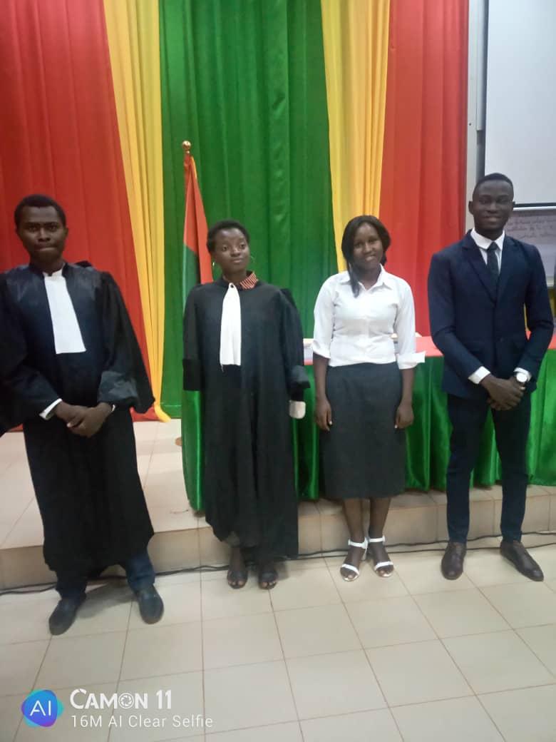 Les quatre finalistes du concours